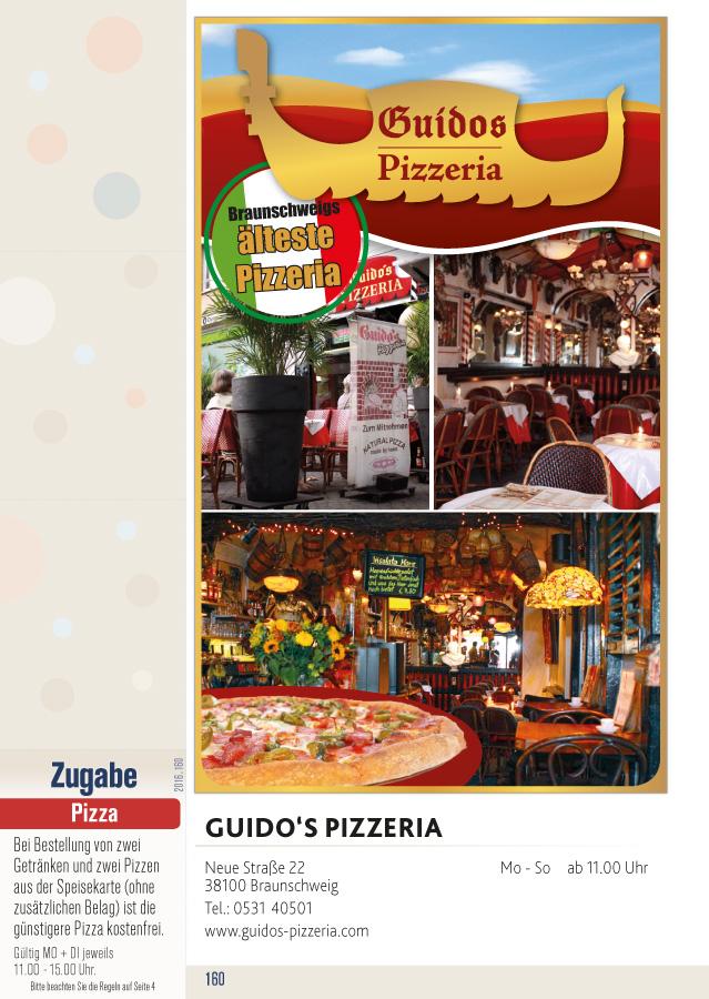 Flips das gutscheinbuch f r braunschweig for Pizza haus braunschweig